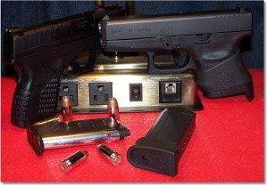 XDs45 with Glock G36