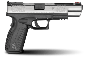 Springfield XDm Features Interchangeable Back Straps