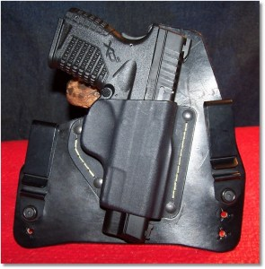 The XDs 4.0 45 - Equally at Home in the SHTF Gear IWB Holster