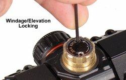 Double-Lock Turrets and Finger-Turn Adjustment Knob