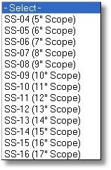 Scopeshield Sizes