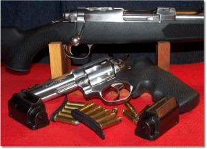 Ruger 77/357 with the Ruger GP141