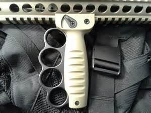 "Metal ""Knuckles"" on a Vertical Grip - A Necessity By Today's Standards?"