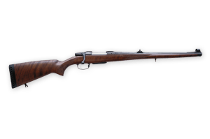 CZ 550. A Fine Example of a Bolt-Action Rifle with Open Sights