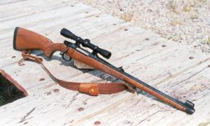 A Right-Handed Bolt-Action Rifle Can Sometimes Be Disconcerting for the Left-Handed Shooter
