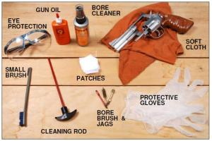 Cleaning Guns Means Using Chemicals