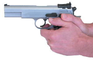 Example of Good Semi-Automatic Pistol Gripping