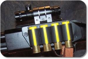 Laser Sight Installation - Left Side View