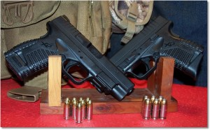 XDs 4.0 9mm (Left) and XDs 4.0 45 (Right)
