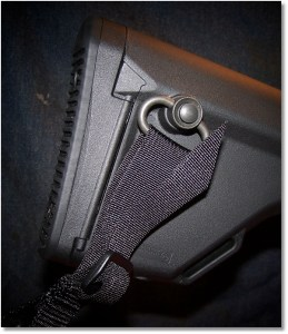 MAGPUL OEM Stock with Condor Speed Sling Attached