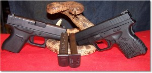 The Glock G43 and the Springfield XDs 4.0 9mm