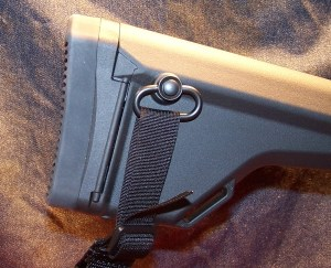 "MAGPUL PRS Extended Butt-Pad (0.80"") Installed"