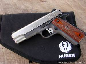 Ruger SR1911CMD-A w/ Ruger Rug