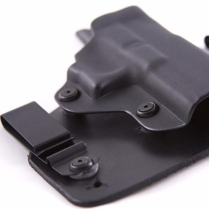 SHTF Gear Holster Showing Dual Tension Points and Multiple Adjustment Points for Ride Height and cant