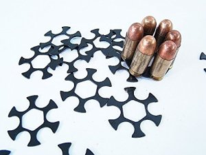 Moon Clips Allow the Loading Of Semi-Automatic Pistol Ammunition Into revolvers Chambered for the Round