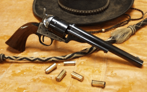 """Uberti 1872 Army Open Top Revolver Ready for the """"New West"""""""