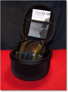 Caseling Hard Case for Howard Leight Impact Sport OD Electric Earmuff Provides Excellent Protection for Your Ear Protection