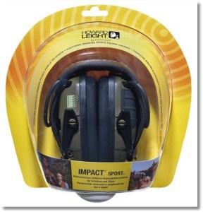 Howard Leight Impact Sport OD Electric Earmuff - Packaging