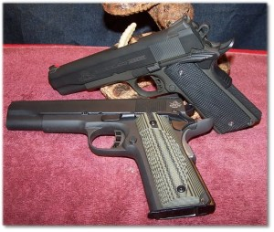At First Glance You Would Be Hard Pressed to Identify What is .45ACP and What Is 9mm