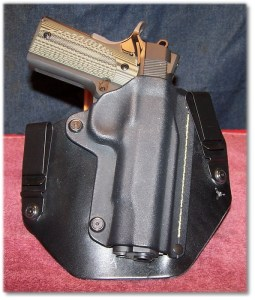 Perfect Fit In a Modified  SHTF Gear IWB Holster