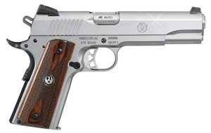 """The Ruger SR1911 Is A Fine Example of a Modern """"Enhanced"""" 1911 for a Reasonable Price"""