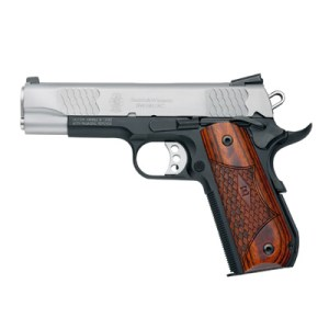 The Smith & Wesson E-Series Round Butt 1911.  A Fine Pistol For Concealed Carry Right From The Factory