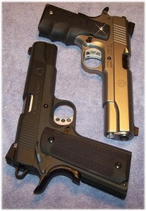 Ruger SR1911 (Top) and Springfield 1911 Loaded (Bottom)