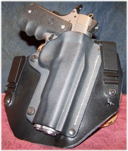 The Ruger is at Home in a Modified IWB Holster from SHTF Gear