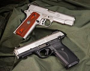 Ruger SR1911 and SR45
