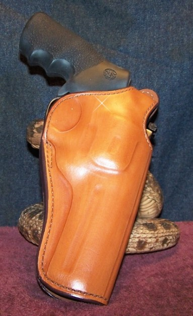 Looking Good and Secure in a Bianchi #111 OWb Holster with Thumb Break