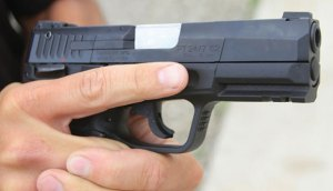 Conventional Trigger Finger Position At Rest