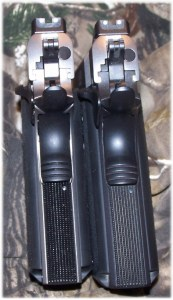 Sr1911CMD (Left) and SR1911CMD-A (Right)