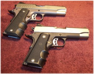 Ruger Sr1911 Model 6722 (Top) in 9mm and Ruger SR1911 Model 6711 (Bottom) in .45 ACP