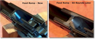 A Non-Polished Feed Ramp is Not an Issue!