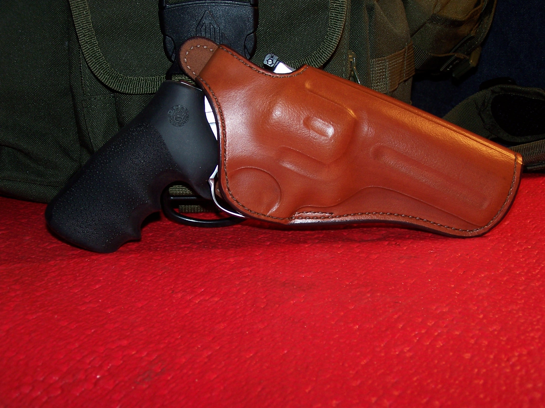 Bianchi 111 Cyclone Holster for Ruger GP100 4In Rev   Guntoters