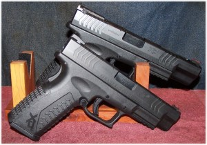 XDM 4.5 (Front) and XDM 5.25 (Rear). Either Will Work for Concealed Carry
