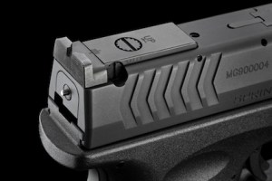 XDM 5.25 Rear Sight - Fully Adjustable for Windage and Elevation