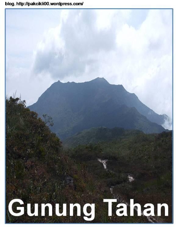 Puncak Tertinggi Di Malaysia Adalah : puncak, tertinggi, malaysia, adalah, Gunung, Tahan, Ganang, Malaysia