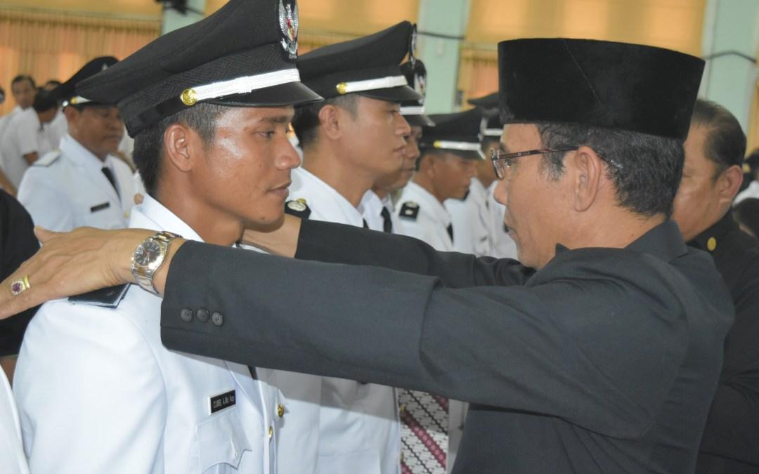 Pelantikan Kades Terpilih Tahap Ke-2 Periode 2018-2024