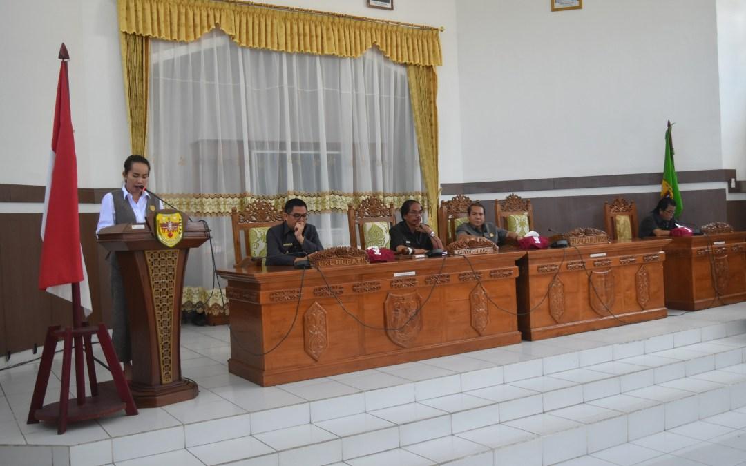 Rapat Paripurna ke-2 Masa Persidangan II Tahun 2019
