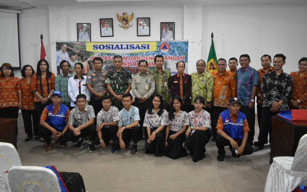 BPB-PK Provinsi Kalimantan Tengah Sosialisasi Pencegahan dan pengurangan Risiko Bencana