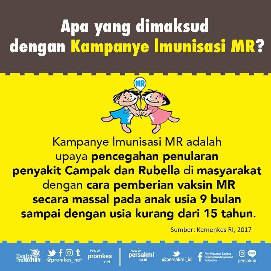 Ayo Sukseskan Kampanye Imunisasi Massal Campak Rubella/ Measles ...