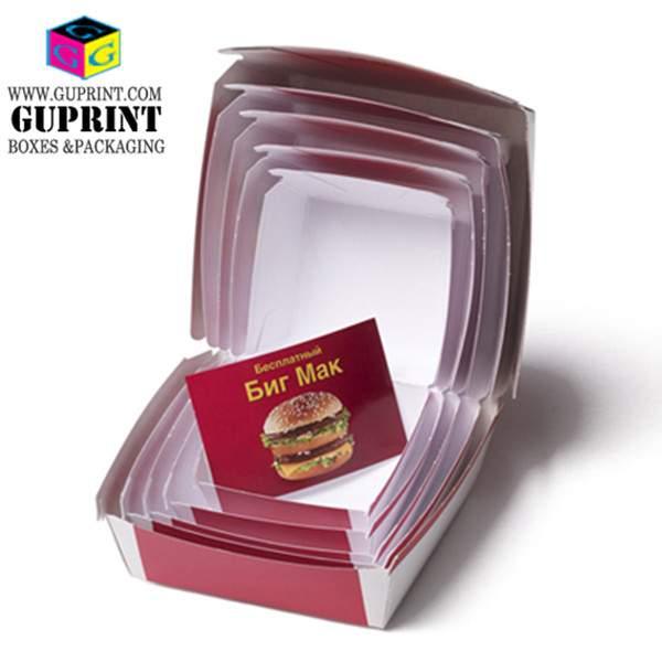 Paper Fast Food Box Manufacturer