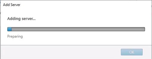 Storefront Adding Server