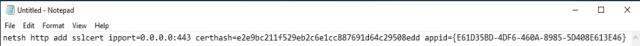Binding SSL Certificate to Citrix Broker Service 5
