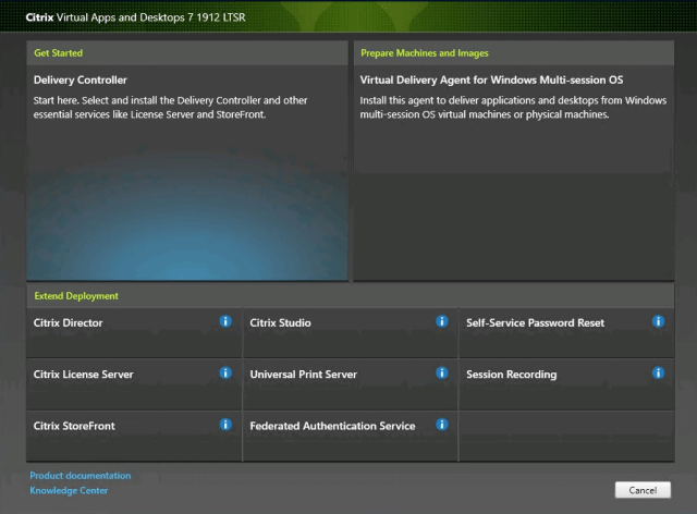 Citrix Delivery Controller Get started