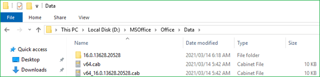 Office 365 Installation files 1