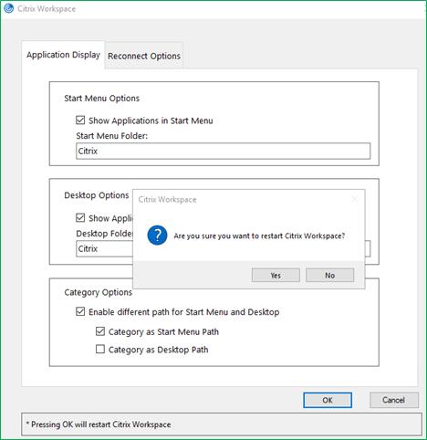 Application and Desktop shortcuts in Citrix