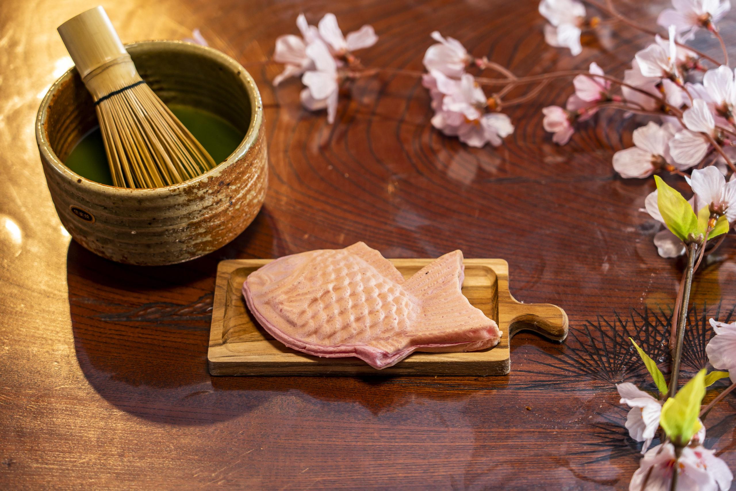季節限定 桜🌸たい焼き はじまめした!