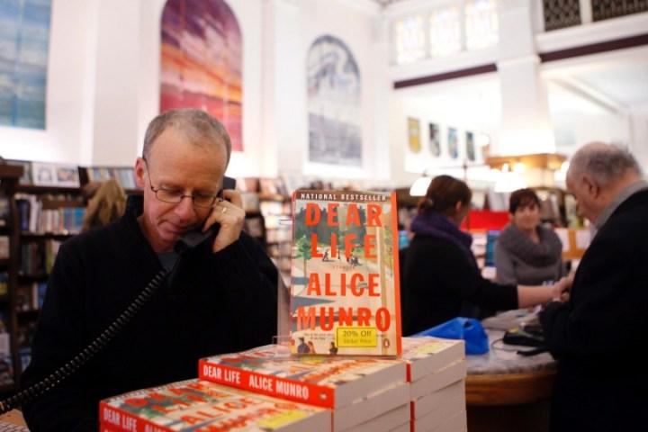 """Alice Munro's book """"Dear Life"""""""